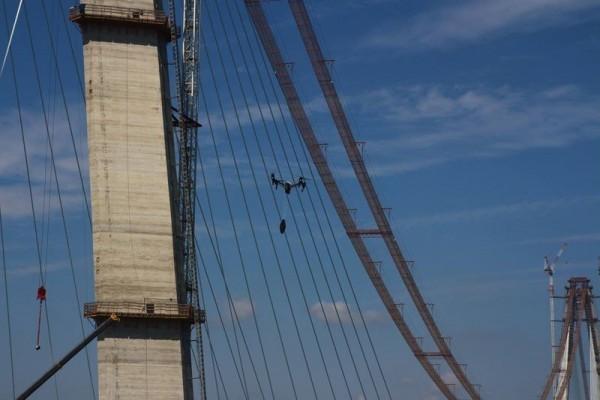 turkcell 3 kopru drone test 1
